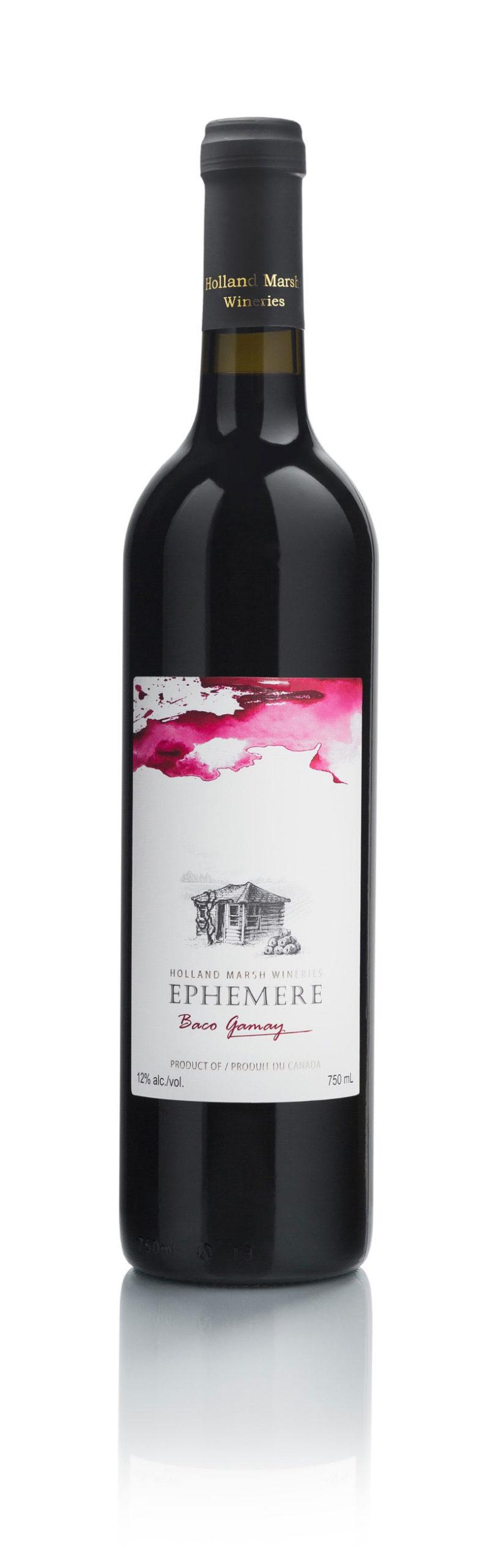 Holland Marsh Winery - 2015 Ephemere Baco Gamay