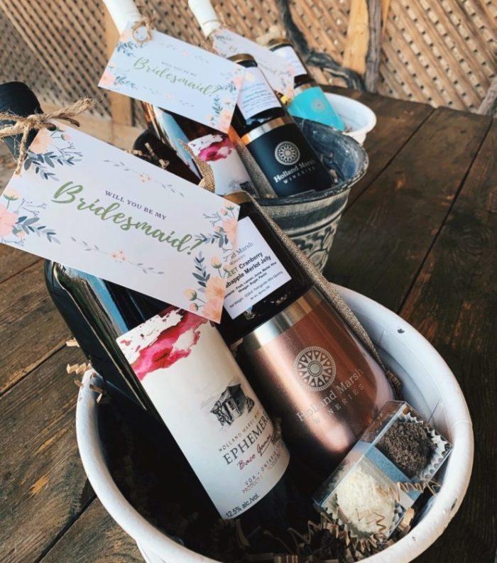 Bridesmaid Proposal Basket