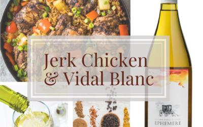 Spring Wine Pairing with Jerk Chicken